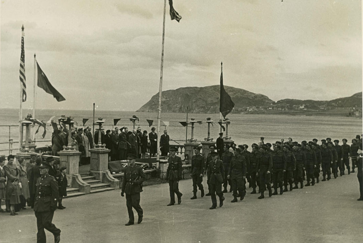 VE Day Celebrations on the Promenade