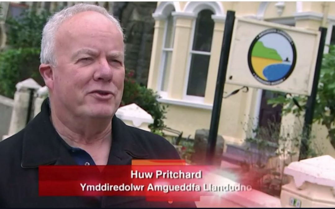 Llandudno Museum on S4C with Huw Pritchard