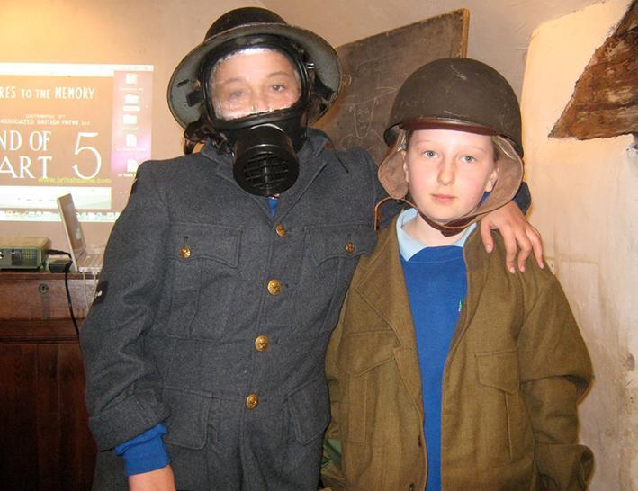Primary School Education WW2 Kids