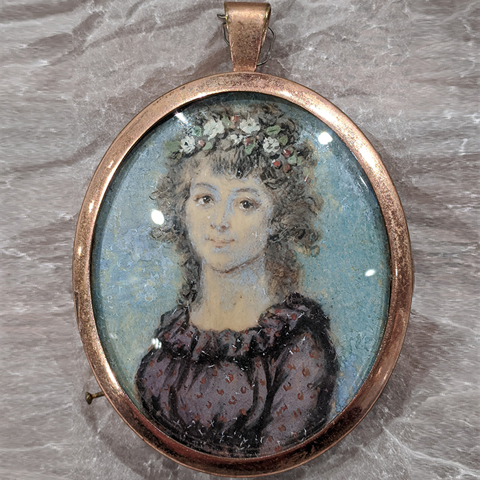 Miniature of a Woman Collected by Chardon