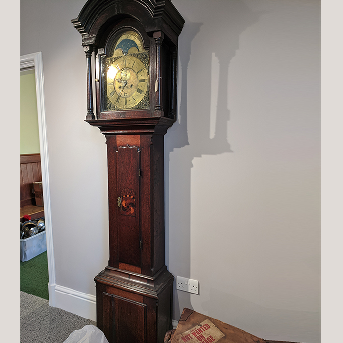 18C Welsh Longcase Clock dated 1755 1