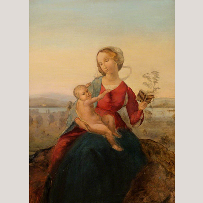 Madonna and Child by Francis E. Chardon (c.1865–1925)