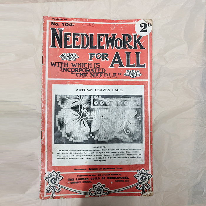 Needlework Booklet - Front