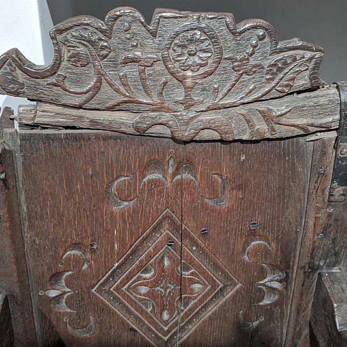 Tudor Oak Armchair 2