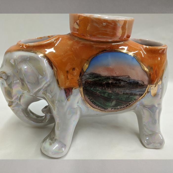 Mid 20th Century Llandudno Tourist Elephant
